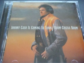 Johnny Cash - Johnny Cash Is Coming To Town / Boom Chicka Boom (2 cds)