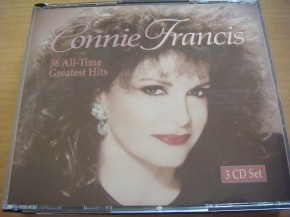 Connie Francis - Greatest Hits (3 cds) - Colección 36 All-Time Greatest Hits